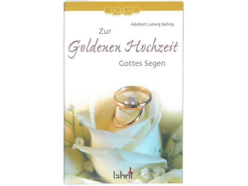 Geschenkheft Zur Goldenen Hochzeit Gottes Segen Sakrale